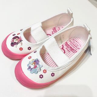 ディズニー(Disney)の上靴 バレエシューズ ミニー デイジー ピンク 14センチ(その他)