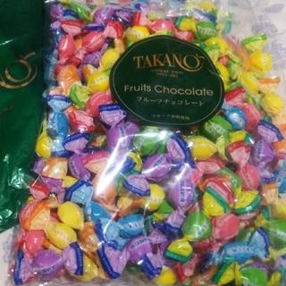 限定品 大容量 350g 老舗  完売品 高野 タカノ フルーツチョコ  チョコ(菓子/デザート)