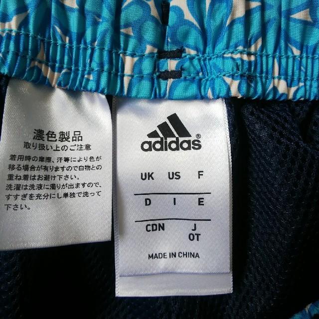 adidas(アディダス)のアディダストレパン 紺色 六分丈 レディース スポーツ/アウトドアのトレーニング/エクササイズ(ウォーキング)の商品写真