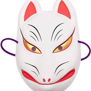 狐面/白/値下げ可能(小道具)