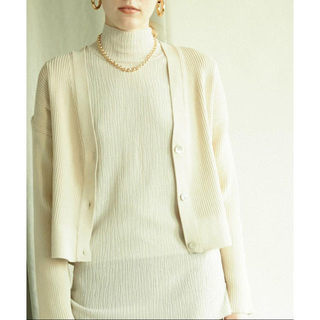 BEAUTY&YOUTH UNITED ARROWS - リブニットカーディガン MAISON SPECIAL