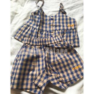 コドモビームス(こどもビームス)のボタン キャミソール&ショートパンツ 確認用(Tシャツ/カットソー)