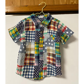 ニシマツヤ(西松屋)の西松屋 CHEROKEE 男子 シャツ 半袖 110cm パッチワーク(その他)