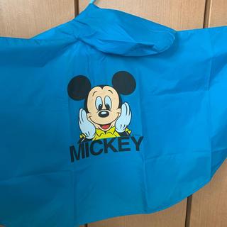 ディズニー(Disney)のレインポンチョ ミッキーマウス(レインコート)