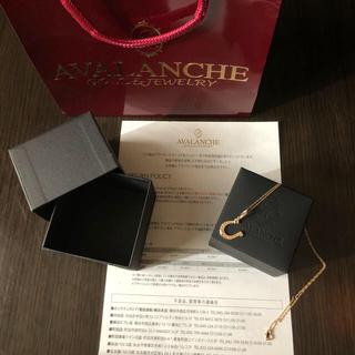 アヴァランチ(AVALANCHE)のAVALANCHE 10K ネックレス(未使用)(ネックレス)