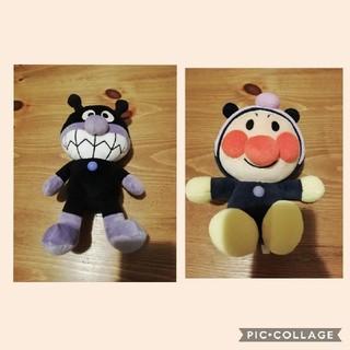 アンパンマン(アンパンマン)の☆アンパンマン&バイキンマンぬいぐるみ☆(ぬいぐるみ/人形)
