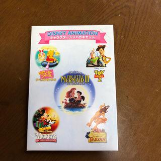 ディズニー(Disney)のキャラクター入りハガキセット(使用済み切手/官製はがき)