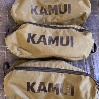 カムイ(KAMUI)の専用!アウトドア チェアー 2脚 セット(テーブル/チェア)