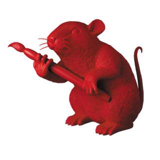 メディコムトイ(MEDICOM TOY)のMCT TOKYO LOVE RAT(RED Ver.)(ミュージシャン)