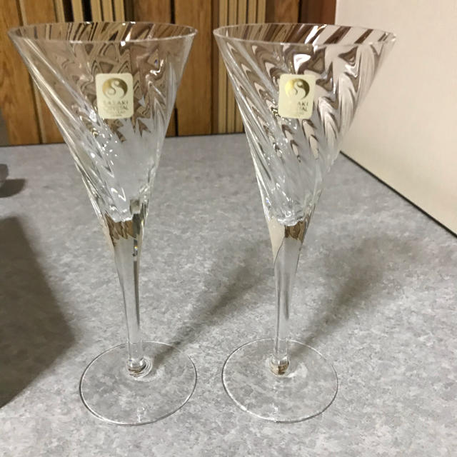 東洋佐々木ガラス(トウヨウササキガラス)の佐々木硝子 ワインセット インテリア/住まい/日用品のキッチン/食器(グラス/カップ)の商品写真