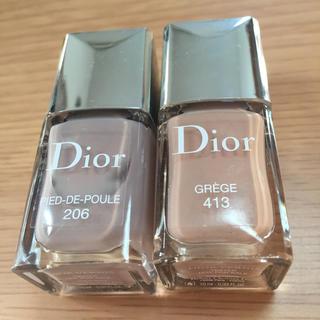 ディオール(Dior)のDior ディオール ヴェルニ2本セット(マニキュア)