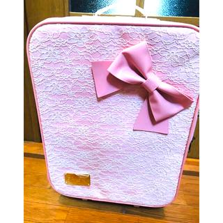 リズリサ(LIZ LISA)のリズリサ 総レースのキャリーバッグ(スーツケース/キャリーバッグ)