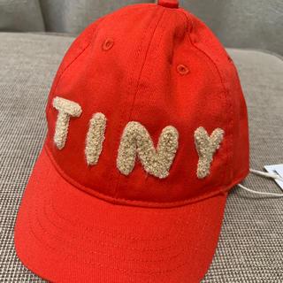 ボボチョース(bobo chose)の新品未使用タグ付き帽子キャップtinycottonタイニーコットン(帽子)