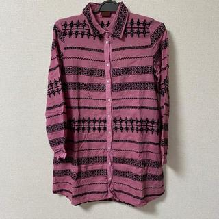 エーアイシー(A・I・C)のA.I.C 刺繍シャツ(シャツ/ブラウス(長袖/七分))