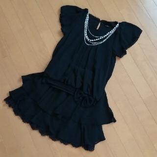 スナイデル(snidel)の■ 美品♡パーティードレス ブラック 9号 ■(ミディアムドレス)