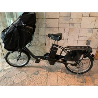 パナソニック(Panasonic)のパナソニック ギュット・ミニKD ラクイック対応 電動自転車 子供乗せ(自転車本体)