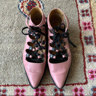トーガ(TOGA)のtoga pulla トーガ 靴 革靴 トーガプルラ 編み上げ(ローファー/革靴)