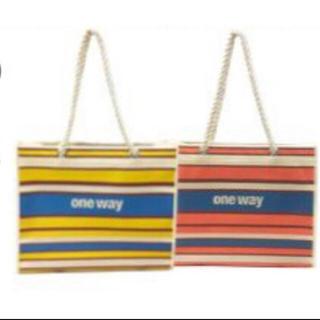 ワンウェイ(one*way)のoneway ショップ袋 不織布(ショップ袋)