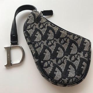 クリスチャンディオール(Christian Dior)のクリスチャンディオール キーリング付 コインケース(コインケース)