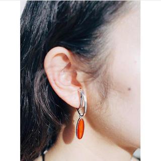 マザー(mother)のBorn From Rock  Luna carnelian Earring(ピアス)