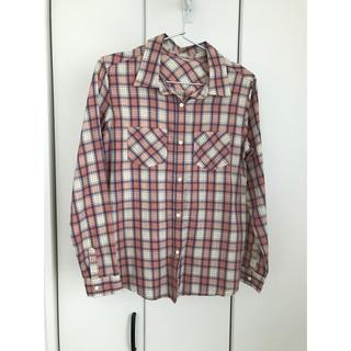 ドゥドゥ(DouDou)のチェックシャツ(シャツ/ブラウス(長袖/七分))