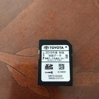 トヨタ(トヨタ)のトヨタ地図ナビSDカード(カーナビ/カーテレビ)