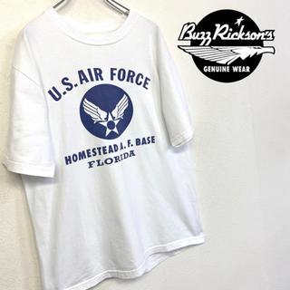 バズリクソンズ(Buzz Rickson's)の美品 Buzz Ricksons Tシャツ US AIR FORCE(Tシャツ/カットソー(半袖/袖なし))