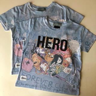ザラ(ZARA)のZARA キッズ ADVENTURE TIME Tシャツ 2枚セット(Tシャツ/カットソー)