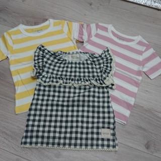 シマムラ(しまむら)のしまむらTシャツ三枚セット  新品(Tシャツ/カットソー)