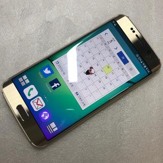 ギャラクシー(Galaxy)のドコモ Galaxy S6 edge SC-04G  ジャンク aki92(スマートフォン本体)