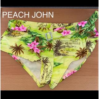 ピーチジョン(PEACH JOHN)の【新品未使用】PEACH JOHN  水着 サーフショーツ(水着)