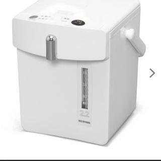 アイリスオーヤマ(アイリスオーヤマ)のおしゃれな電気ポット 新品未使用未開封(電気ポット)