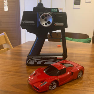 フェラーリ(Ferrari)の京商 ミニッツ MR-02 MM  エンツオ・フェラーリ ラジコン 子供 室内(ホビーラジコン)