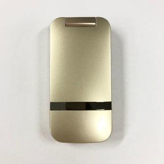 シャープ(SHARP)の美品 softbank 202SH ゴールド(携帯電話本体)