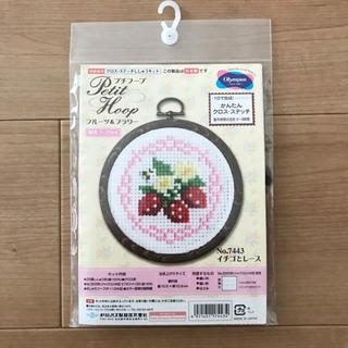 オリンパス(OLYMPUS)の刺繍キット(生地/糸)