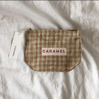 キャラメルベビー&チャイルド(Caramel baby&child )の伊勢丹限定 caramel キャラメル ポーチ(その他)