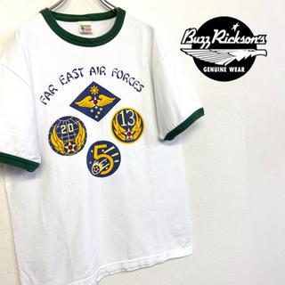 バズリクソンズ(Buzz Rickson's)の美品 US製 Buzz Rickson's Tシャツ(Tシャツ/カットソー(半袖/袖なし))