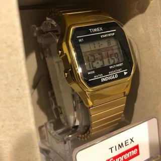 シュプリーム(Supreme)のSupreme Time x Gold(腕時計(デジタル))