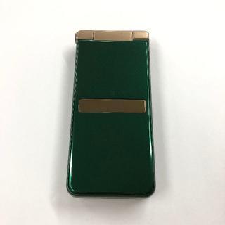 シャープ(SHARP)のau AQUOS K SHF34 グリーン(携帯電話本体)