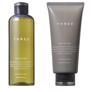 スリー(THREE)の[THREE]7個⭐︎シャンプーセット(サンプル/トライアルキット)