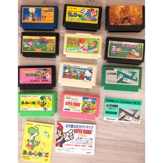 ニンテンドウ(任天堂)の任天堂 ニューファミコン ソフト カセット セット価格(家庭用ゲームソフト)