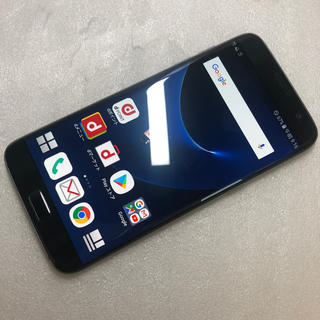 ギャラクシー(Galaxy)のドコモ Galaxy S7 edge SC-02H  ブラックオニキス ジャンク(スマートフォン本体)
