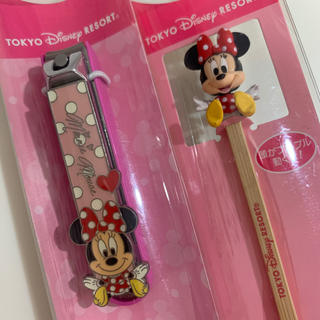 ディズニー(Disney)のミニー つめきり 耳かき セット★ディズニー★東京ディズニーリゾート(その他)