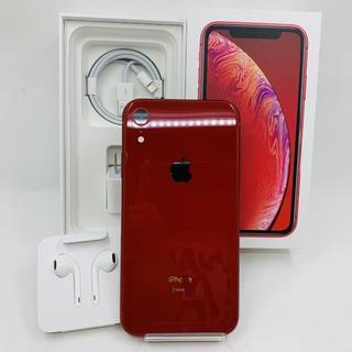 アイフォーン(iPhone)のpapipu様専用 SIMフリー iphoneXR 128GB レッド 908(スマートフォン本体)