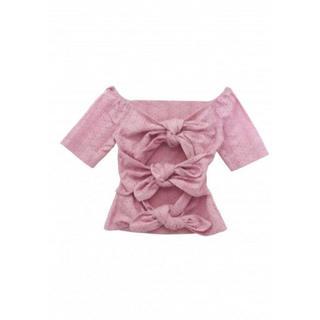 ハニーミーハニー(Honey mi Honey)のハニーミーハニー 2way cottonlace blouse(シャツ/ブラウス(半袖/袖なし))
