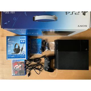 プレイステーション4(PlayStation4)のPS4本体 ゲーム付き ヘッドホン付き(PCゲームソフト)