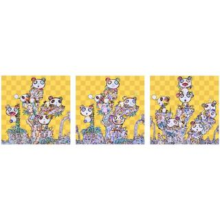 村上隆 パンダ ポスター 3種類セット(その他)