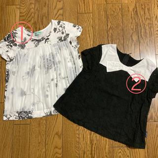 ハッカキッズ(hakka kids)のhakka kids♡Tシャツ 2枚セット(Tシャツ/カットソー)
