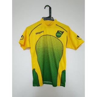 ウールシュポルト(uhlsport)のジャマイカ代表 ユニフォーム Sサイズ(US) uhlsport サッカー 黄色(ウェア)