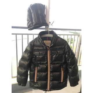 モンクレール(MONCLER)のモンクレール キッズ サイズ5/112cm ブラック(ジャケット/上着)